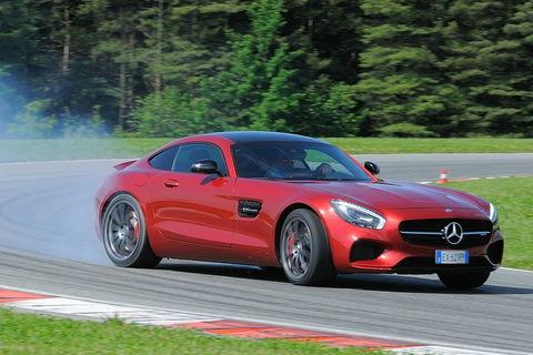 Prova Mercedes AMG GT Coupé 4.0 V8
