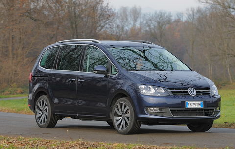 Prova Volkswagen Sharan 2.0 TDI Highline BlueMotion Technology DSG