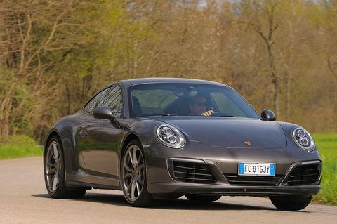 Prova Porsche 911 Carrera  4S