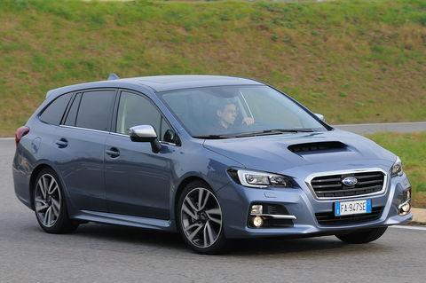 Prova Subaru Levorg 1.6 DIT Sport Style Lineartronic