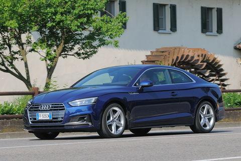 Prova Audi A5 2.0 TDI 190 CV Sport S tronic