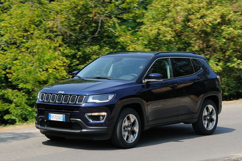 Prova Jeep Compass 1.6 Multijet Limited