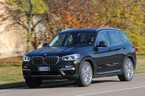 Prova BMW X3 xDrive20d Luxury Steptronic