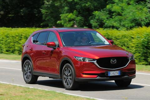 Prova Mazda CX-5 2.2 D 175 CV Exclusive Automatica 4WD