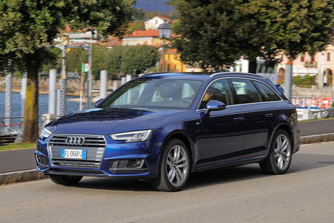Prova Audi A4 Avant 2.0 TFSI g-tron S tronic S line edition