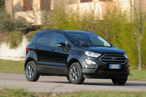 Prova Ford EcoSport 1.5 TDCi 100 CV Plus