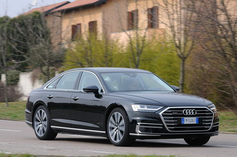 Prova Audi A8 50 TDI 3.0 quattro tiptronic