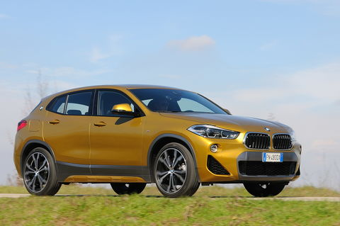 Prova BMW X2 xDrive20d MSport X Steptronic