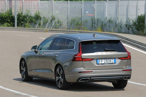 Prova Volvo V60 D4 Inscription Geartronic