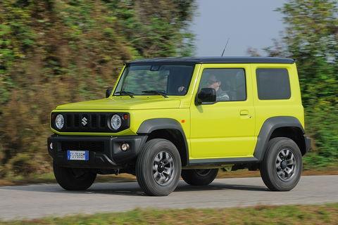 Prova Suzuki Jimny 1.5 5MT