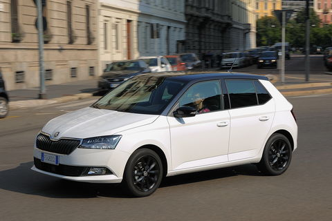 Prova Skoda Fabia 1.0 TSI 95 CV Twin Color Nero