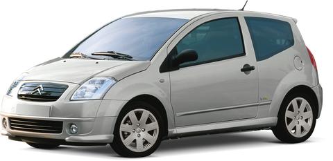 Quotazioni Eurotax Citroën C2