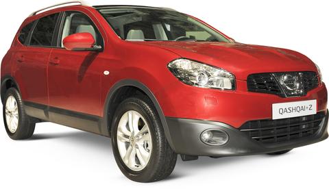 Quotazioni Eurotax Nissan Qashqai+2