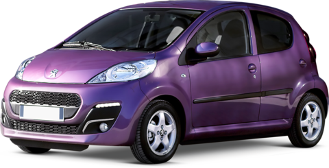 Quotazioni Eurotax Peugeot 107