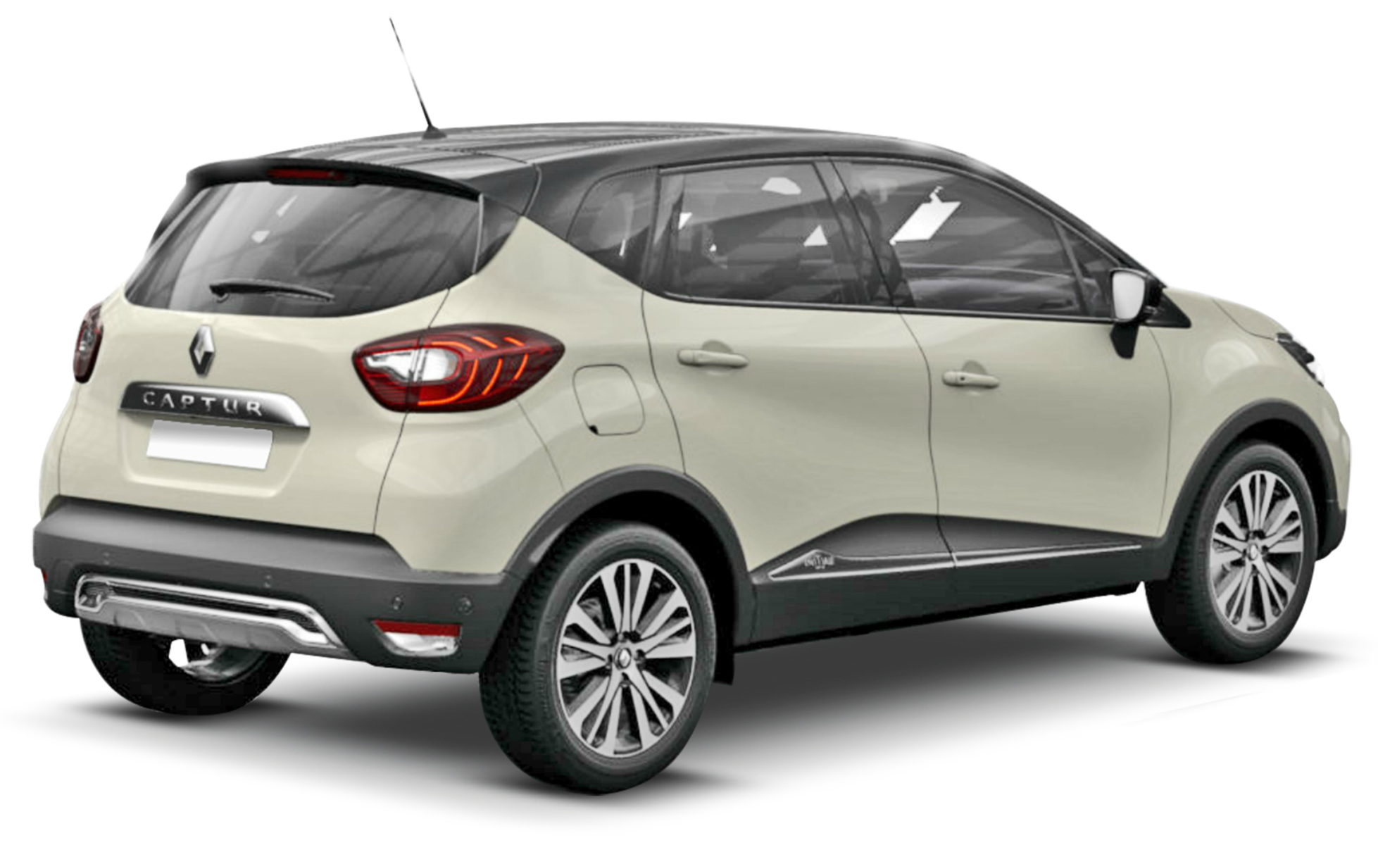 Renault Captur on rover coupe