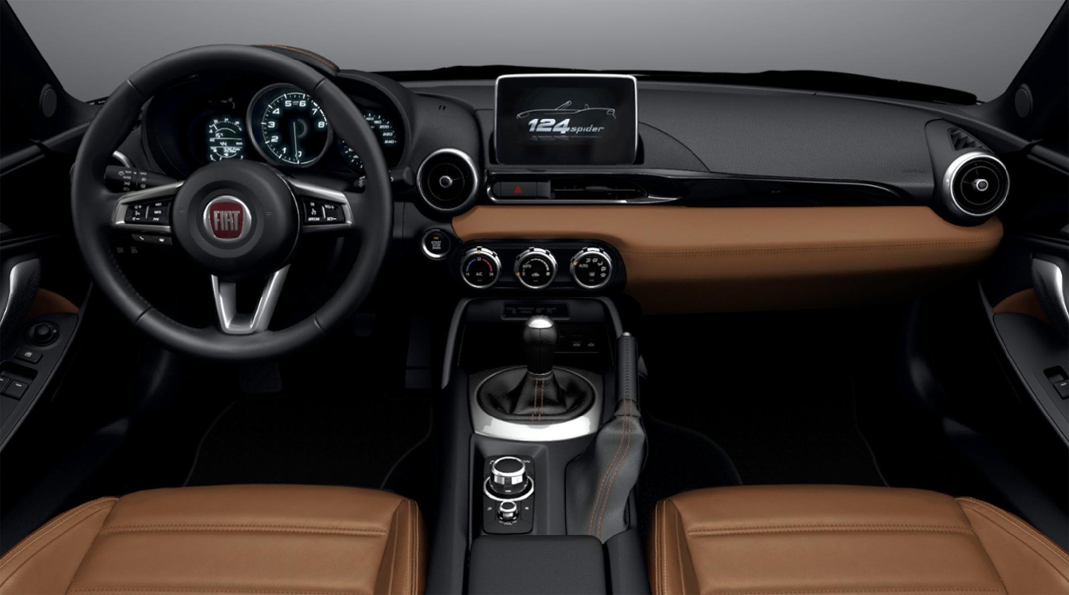 Listino Fiat 124 Spider Prezzo Scheda Tecnica Consumi