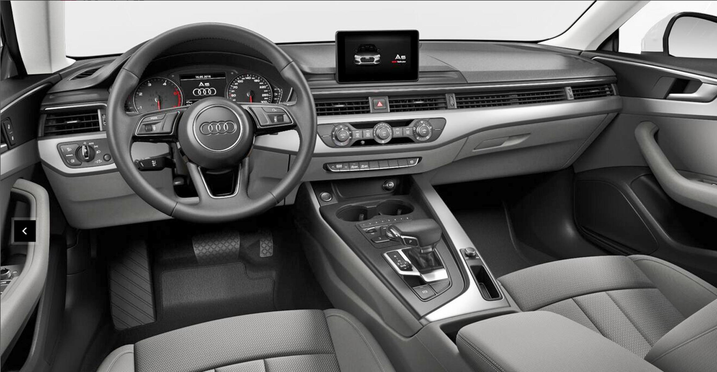 Listino Audi A5 Sportback prezzo - scheda tecnica ...