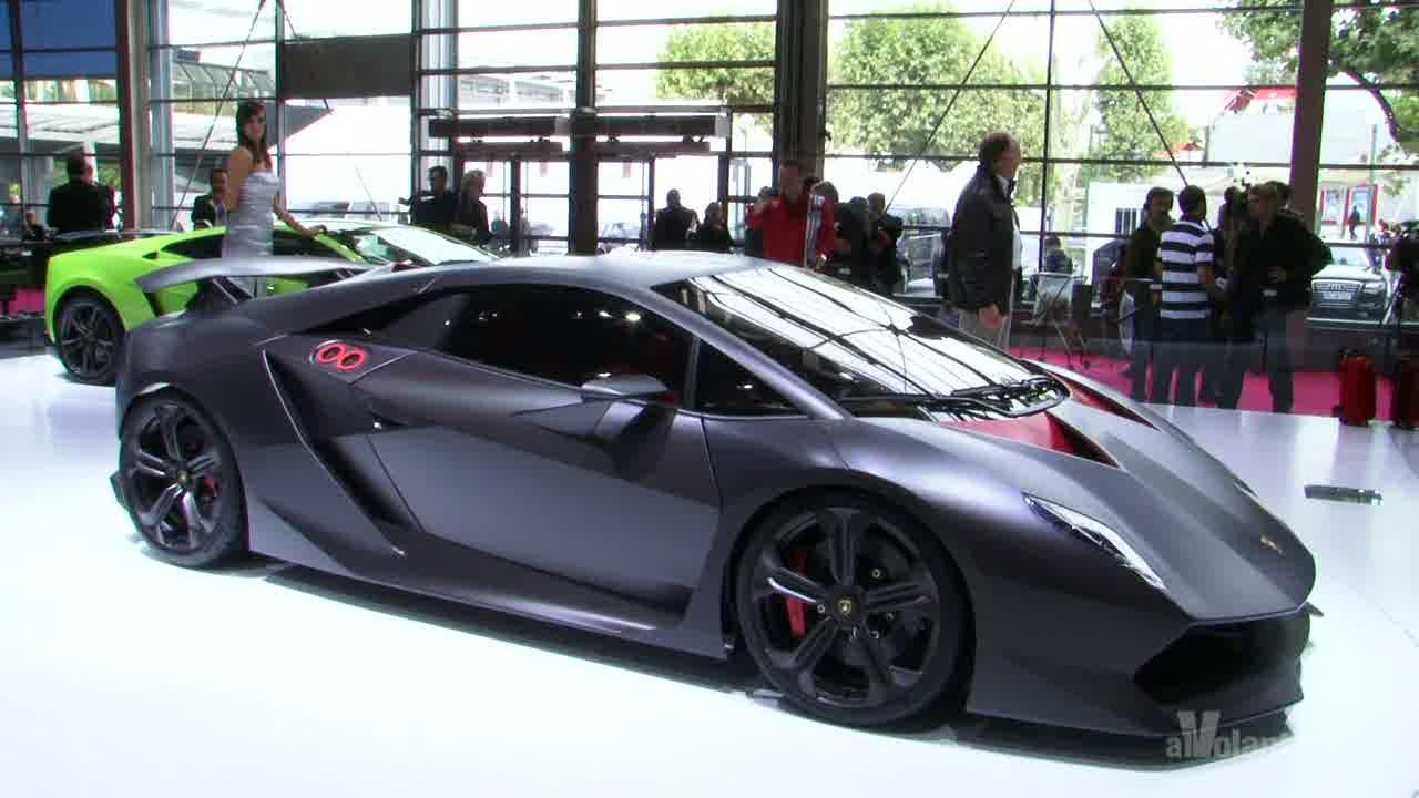 Video Parigi 2010 Lamborghini Sesto Elemento Di Ottobre 2010