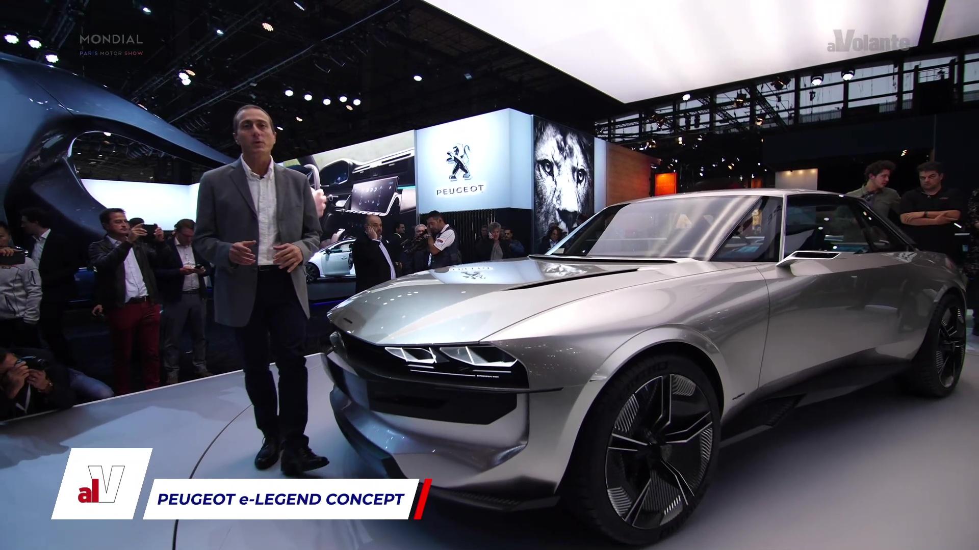 Video Peugeot E Legend Concept Di Ottobre 2018